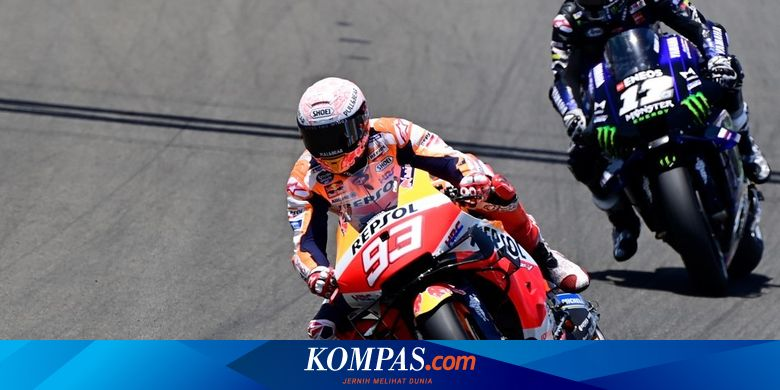 Alasan Marc Marquez Mundur dari MotoGP Andalusia Halaman all