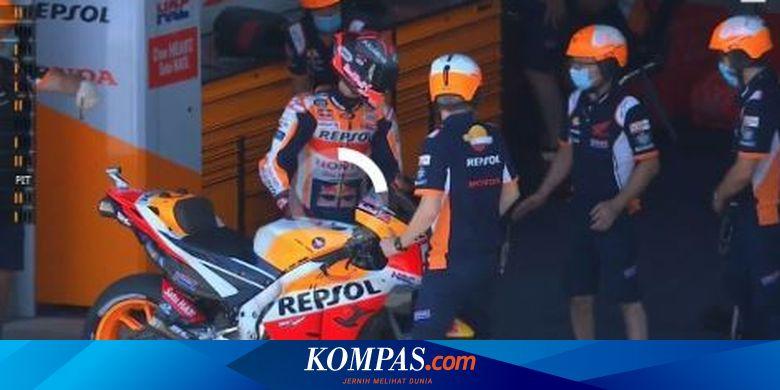 MotoGP Andalusia - Bos Repsol Honda: Kondisi Marquez Lebih Buruk Saat Kualifikasi Halaman all