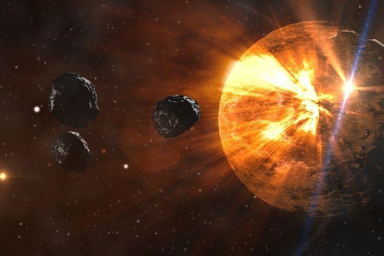 Peringatatan NASA Besok Harus Diwaspadai, Asteroid Serupa Erupsi Gunung Krakatau 1883 Lintasi Bumi